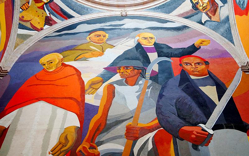 murales del Centro Cultural clavijero